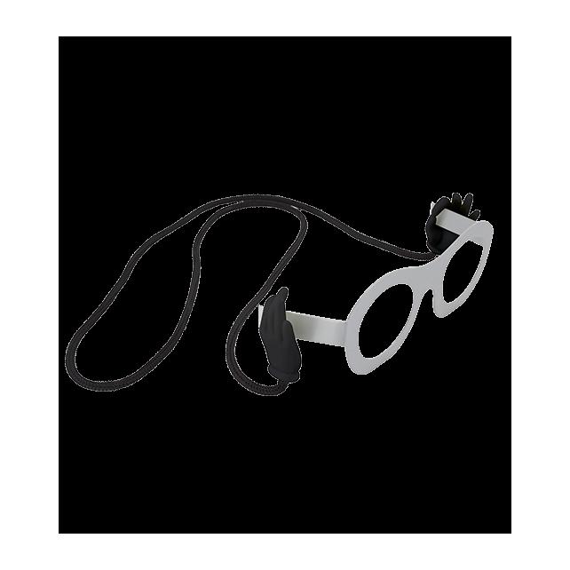 Bas Les Pattes - Cordon à lunettes Noir