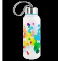 Flask - Happyglou small Coquelicots