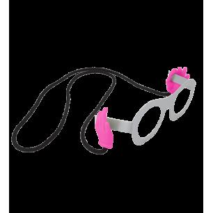 Cordon à lunettes - Bas Les Pattes - Rose
