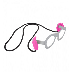Cordino per occhiali - Bas Les Pattes - Rosa