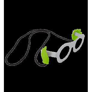 Brillenband - Bas Les Pattes - Grün