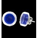 Cachou Billes - Boucles d'oreilles clou