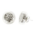 Stud earrings - Cachou Paillettes