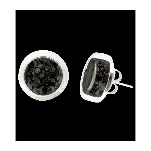 Stud earrings - Cachou Paillettes