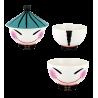 Mao 2 large - Bol en porcelaine Garçon