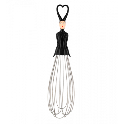 Kitchen whisk - Mélusine - Black