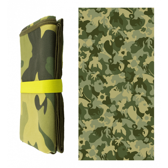 Microfibre towel - Body DS Camouflage