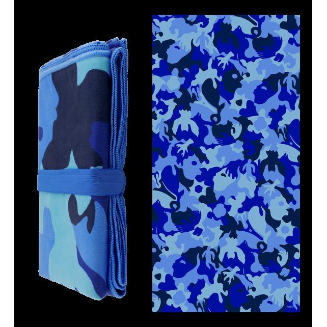 Telo mare in microfibra - Body DS Camouflage
