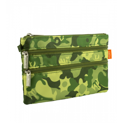 Bustina a 3 cerniere - Zip It Camouflage - Camouflage Green