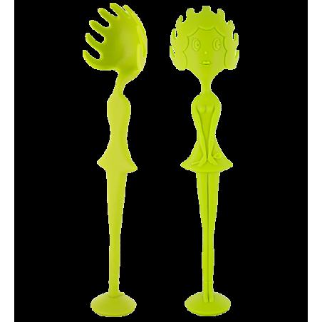 Spaghetti spoon - Miss Pasta Light Green