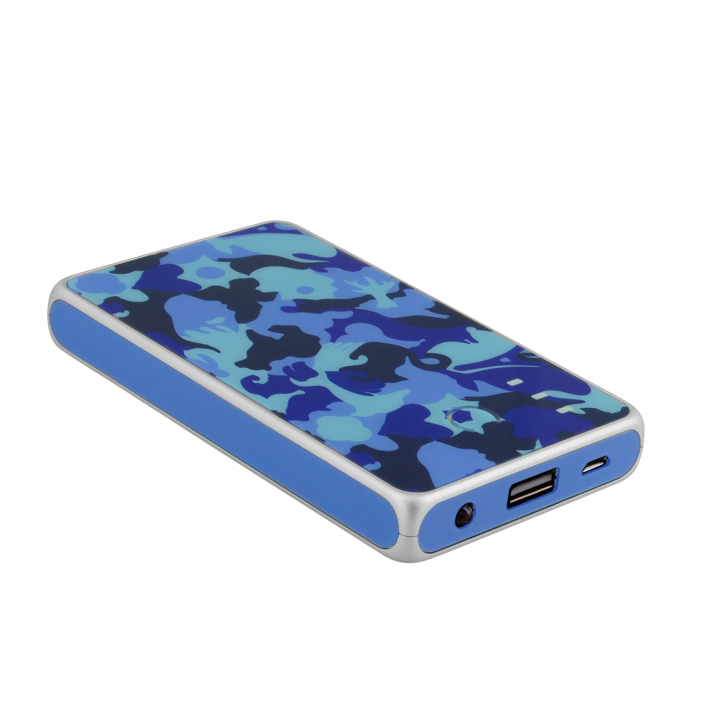 Portable battery 5000mAh - Get The Power 2 Camouflage