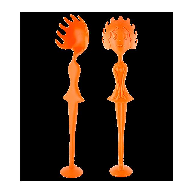 Cucchiaio per spaghetti - Miss Pasta Arancione