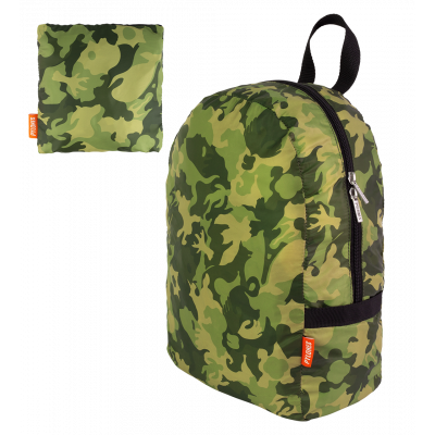 Sac à dos pliable - Pocket Bag Camouflage - Camouflage Green