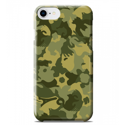 Coque pour iPhone 6S/7/8 - I Cover 6S/7/8 Camouflage - Camouflage Green