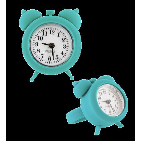 Uhrring - Nano Watch Türkis