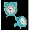 Nano Watch - Bague Montre Turquoise