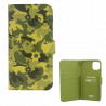 Flap cover/wallet case for iPhone 11- I Wallet 11 Camouflage Green
