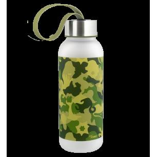 Borraccia piccola - Happyglou small Adulti Camouflage - Camouflage Green