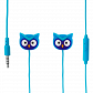 Earphones with integrated microphone - Swing