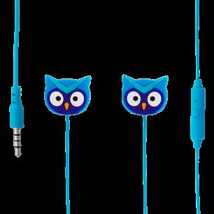 Auricolari con microfono integrato - Swing - Gufo