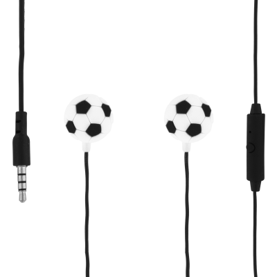 Earphones with integrated microphone - Swing - Football