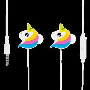 Auricolari con microfono integrato - Swing - Unicorno