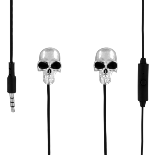 Earphones with integrated microphone - Swing - Skeleton