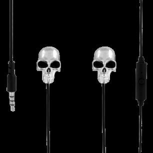 Auricolari con microfono integrato - Swing - Skeleton