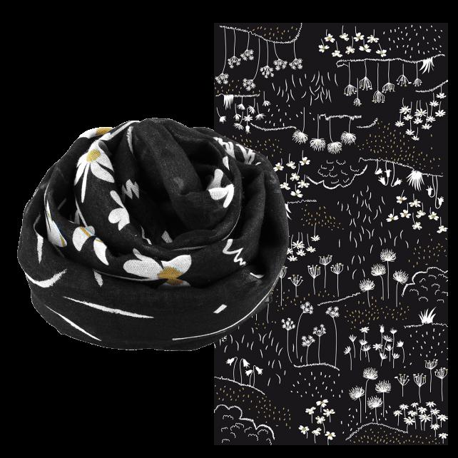 Scarf - Balade Black Board
