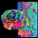 Scarf - Balade Blue Flower