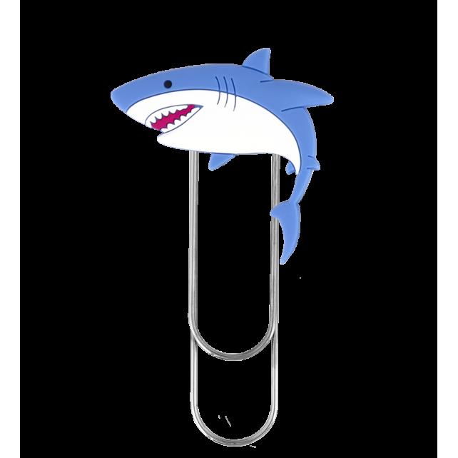Large bookmark - Ani-bigmark Shark