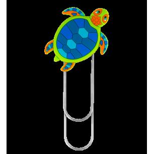 Großes Lesezeichen - Ani-bigmark - Turtle