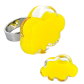 Nuage Medium Milk - Bague en verre Giallo