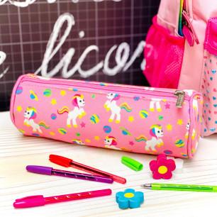 Round pencil case - Planete Ecole