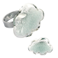 Glass ring - Nuage Medium Billes
