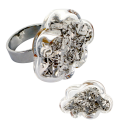 Anello in vetro - Nuage Medium Paillettes