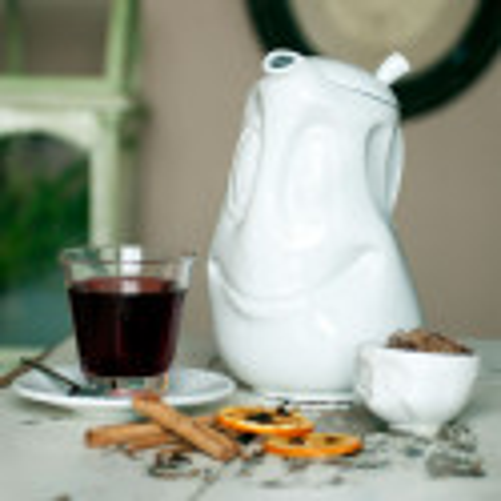 Karaffe / Kaffeekanne 1,6 L - Emotion Weiss