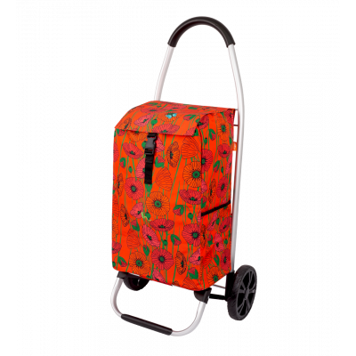 Shopping trolley - Trolly - Coquelicots