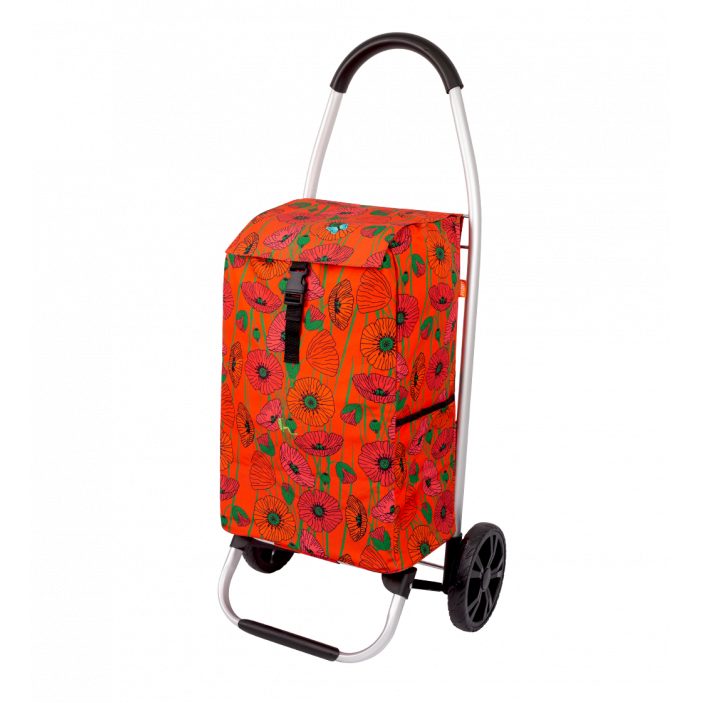 Shopping trolley - Trolly Coquelicots