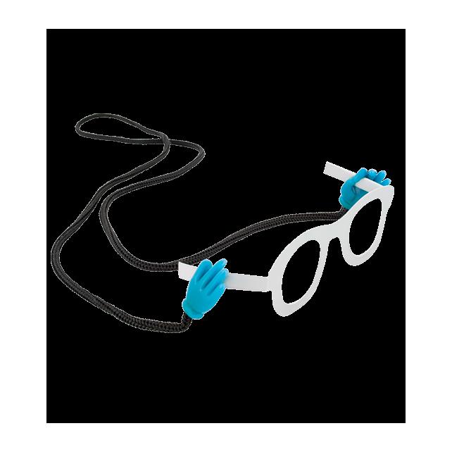 Brillenband - Oh! Les mains! Blau