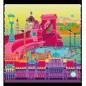 Microfibre cloth for glasses - Belle Vue City