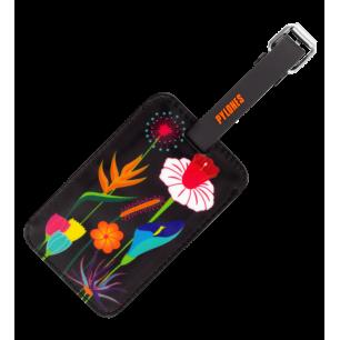 Etichetta per bagaglio - Voyage - Jardin fleuri