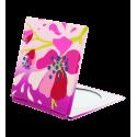 Pocket mirror - Mimi Blue Flower