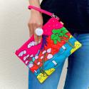 Handtasche - Brody - Pochette Party Estampe
