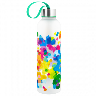 Trinkflasche - Happyglou Large - Palette