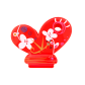 Papiclip 2 - Pince à sachet White Flower