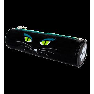 Astuccio di scuola - Akademik - Black Cat