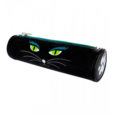 Pencil case - Akademik - Black Cat