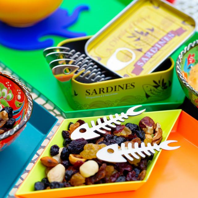Set de 6 Pics apéritif - Sardines