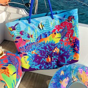 Très grand cabas de plage - Beach Bag